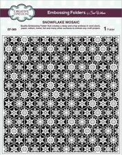 Creative Expressions Embossing Folder by Sue Wilson - Snowflake Mosaic  EF-069