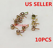 """10PCS 8mm 5/16"""" inch Spring Clip Vacuum Fuel Oil Hose Line Air Tube Band Clamp"""