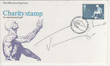 """JEREMY IRONS - """"SIGNED""""  """" CHARITY """"  FIRST DAY ENVELOPE"""