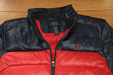 Ralph Lauren POLO Red down jacket boys size Large 14-16