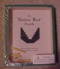 "The ""Golden Rod"" Puzzle replica of 1930 R Journet, Roll rods into position, NEW!"