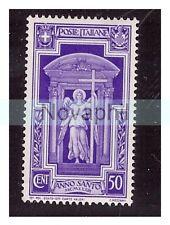 REGNO 1933  -  ANNO SANTO   CENTESIMI  50   -  NUOVO **
