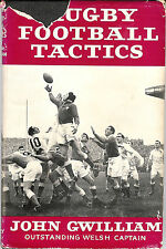 "1958 -""RUGBY FOOTBALL TACTICS"" BOOK JOHN GWILLIAM, WALES & BRITISH LIONS"