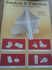 Sundials & Timedials Collection of Working Models Educational Maritime Museum