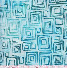 Robert Kaufman Batik Nature's Textures 14377 333 Sea Glass Squares By the Yard