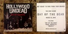 HOLLYWOOD UNDEAD Day Of The Dead 2015 Ltd Ed RARE Sticker +FREE Rock Stickers