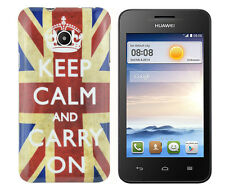 TPU Schutzhüllle f Huawei Ascend Y330 Tasche Case Cover keep calm and carry on