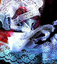 *Back by popular demand*  Bundle of lace trim offcuts (20 pieces)