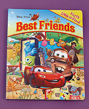 NEW Disney Pixar Best Friends First Look & Find For Toddlers Large Board Book