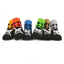 Girls Toddler Baby Anti-slip Slipper Shoelace Boys Kids Shoes Socks Random Color