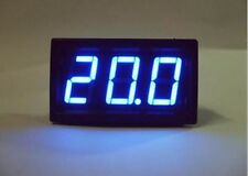 Mini Blue LED Volt Meter DC 7V-20V Doesn't Require Power NEW