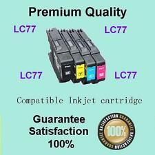 4x LC73 LC77 LC40 XL Ink Cartridge for Brother MFC J430W J432W J625DW J825DW