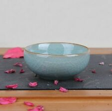 1pc Chinese Longquan Kiln Ice Veins Celadon Handmade Gongfu Tea Cup 50ml