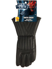 Child Darth Vader Gloves Star Wars Accessory Fancy Dress Brand New