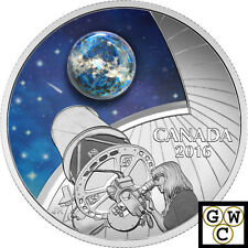 2016The Universe #2Borosilicate Glass&Opal Proof $20 Silver Coin 1oz 9999(17508)