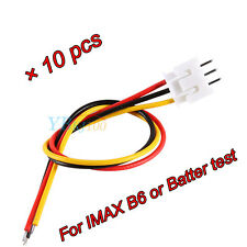 New 10PCS 7.4v 2s1p 3 Pin JST XH Connector Adapter Plug RC Balance Charger Wire