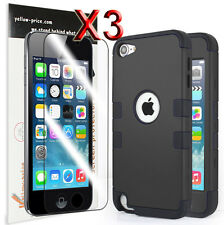 Shockproof Tough Armor Hard Case Cover for Apple iPod Touch 5 5th Gen 5G+Film AU