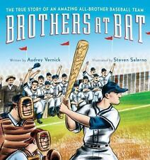 Brothers at Bat: The True Story of an Amazing All-Brother Baseball Tea-ExLibrary