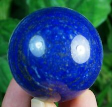 Lapis lazuli hand carved Sphere/Ball Mineral Specimen collectible 53 MM from Afg