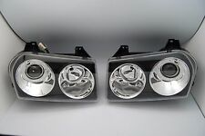 2005-2010 Chrysler 300 Touring Limited Projector Headlights Black