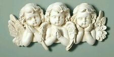 CONCRETE PLASTER MOLD(large plaque wall angels) LATEX ONLY  ready to ship