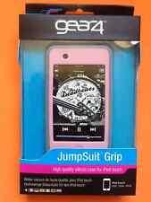 Nuevo Cargador DE ACOPLAMIENTO GEAR4 Mono Grip Rosa Y Gris Silicona Funda Protectora Para Ipod Touch 2g Y 3g