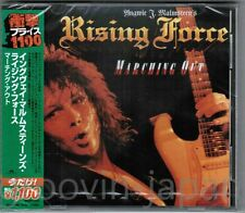 Sealed! YNGWIE MALMSTEEN RISING FORCE Marching Out CD UICY-91906 2013 LTD w/OBI