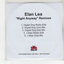 (FS864) Elan Lea, Right Anyway - DJ CD