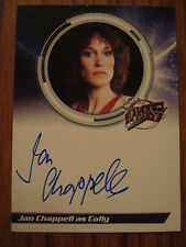 BLAKES 7 - SERIES 1: AUTOGRAPH CARD: JAN CHAPPELL AS CALLY S1JC