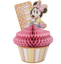Disney MINNIE MOUSE 1st Birthday ~ (1)   Centerpiece~ Party Supplies Decorations
