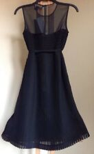 New FRENCH CONNECTION Size 4 Little Black Dress Pleated. Платье вечернее