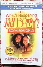 What's Happening to My Body? Book for Girls by Lynda Madaras c2000, VGC PB