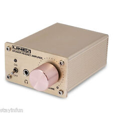 A910 Isoundyou Digital Audio Power Amplifier with Line 5 Speaker System (Gold)
