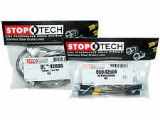 Stoptech Stainless Steel Braided Brake Lines (Front & Rear Set / 42006+42504)