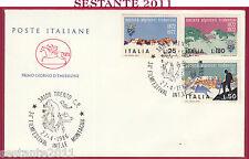 ITALIA FDC CAVALLINO FILMFESTIVAL INTERNAZION. MONTAGNA 1986 ANNULLO TRENTO Y391