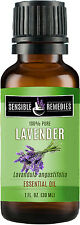 30 mL bottles Lavender Essential Oil by Sensible Remedies - 100% Pure & Natural!