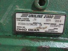 Ohio Gear Model 2300/2175 MC 140 EN Ser 231506F22  H4~19927MO