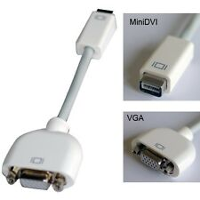 Mini DVI to VGA Monitor Video Adapter cable Converter for PC Computer MacBook US