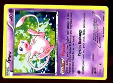 PROMO POKEMON BLACK & WHITE HOLO N° BW98 MEW ....
