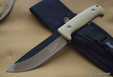"ELK RIDGE FIXED BLADE HUNTING KNIFE 10.5"" OVERALL WITH HEAVY DUTY NYLON SHEATH"