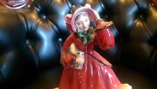 "Royal Doulton Figurine HN2110 ""Christmas Time"" Vintage Very Good Condition"