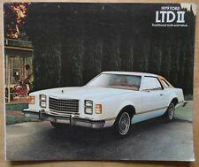 FORD LTD II orig 1979 USA Mkt sales brochure