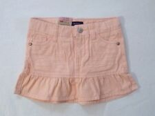 NEW Levi's Girl's ALESSANDRA SCOOTER Skort Adjustable Waist Denim Peach 6 Reg