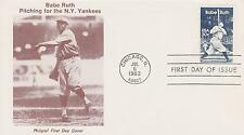 1983 BABE RUTH ISSUE SCOTT #2046 FIRST DAY COVER FDC BASEBALL TOPIC #5