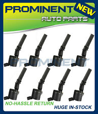 New Set of 8 Ignition Coils for Ford F150 F250 F350 F450 4.6L 5.4L DG508 C1454