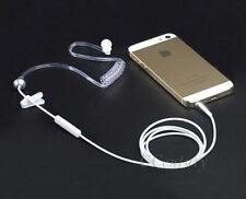 Anti-Radiation Air Tube Stereo Earphone Headset for Smartphone Phones iPhone