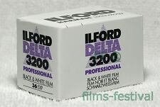 3 rolls ILFORD DELTA 3200 Professional 35mm 36exp Film B&W 135/36