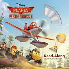 Read-Along Storybook and CD: Planes - Fire and Rescue by Disney Book Group Staff