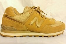 MADE FROM HEMP New Balance M 574 M574 Shoes LIMITED EDITION Sz 13 US CAMEL BROWN
