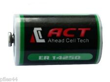 1 Pile Lithium 3.6V 1/2AA ER14250 1200Mah 1.2A LS ER 14250 XL050F  Battery ACT